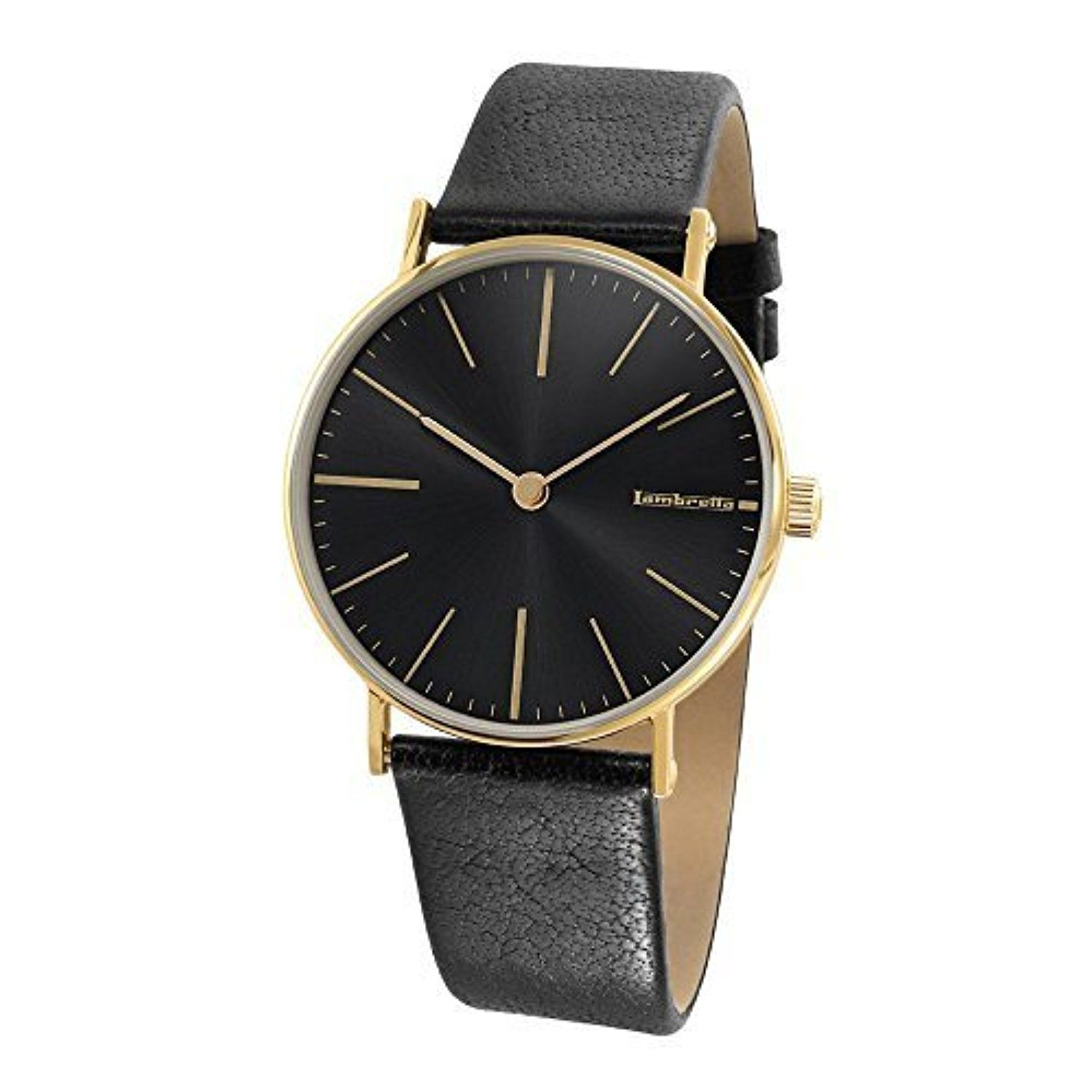 Lambretta Watches Cesare Gold Black Mens Watch by Lambretta Watches -- Awesome products selected by Anna Churchill