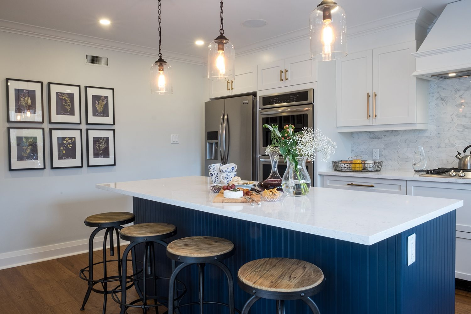 property brothers blue kitchens
