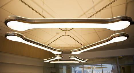 Eye Strain Due To Fluorescent Lights Ceiling Fixtures Garage Lighting Strip Lighting