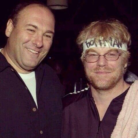 James Gandolfini & Philip Seymour Hoffman :__)