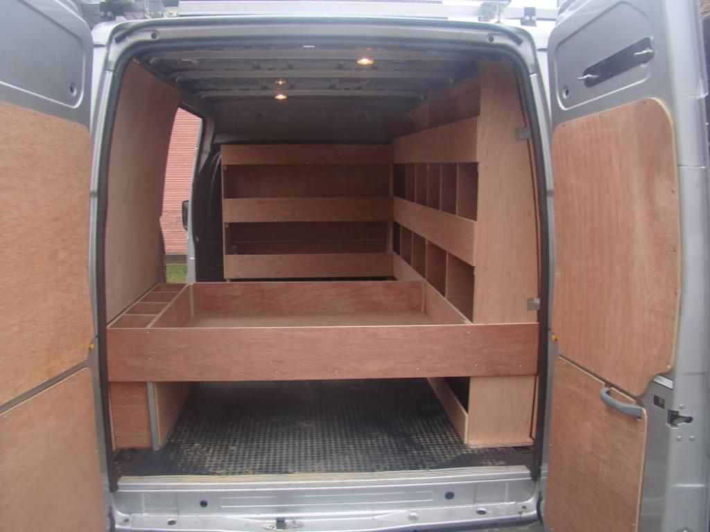 Transit Custom Racking Google Search Van Shelving Van Storage Van Racking