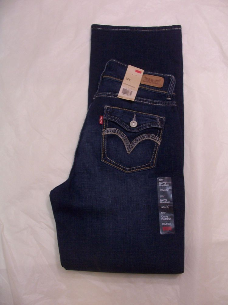 adab8ca9f2d Levi's 529 Jeans Curvy Bootcut Styled Size 2-16 Variations Pockets with  Flaps #Levis529Jeans #BootCut