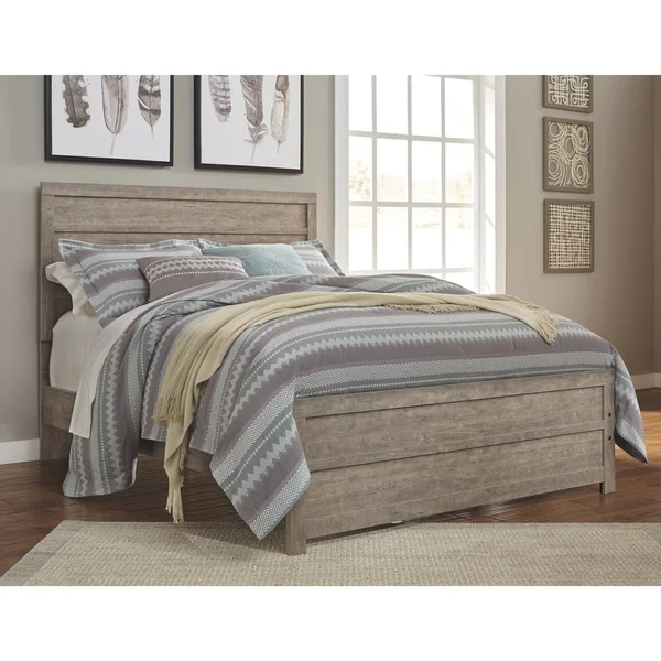 Carbon Loft Balnain Grey Panel Bed Queen Panel Beds Panel Bed Bedroom Sets