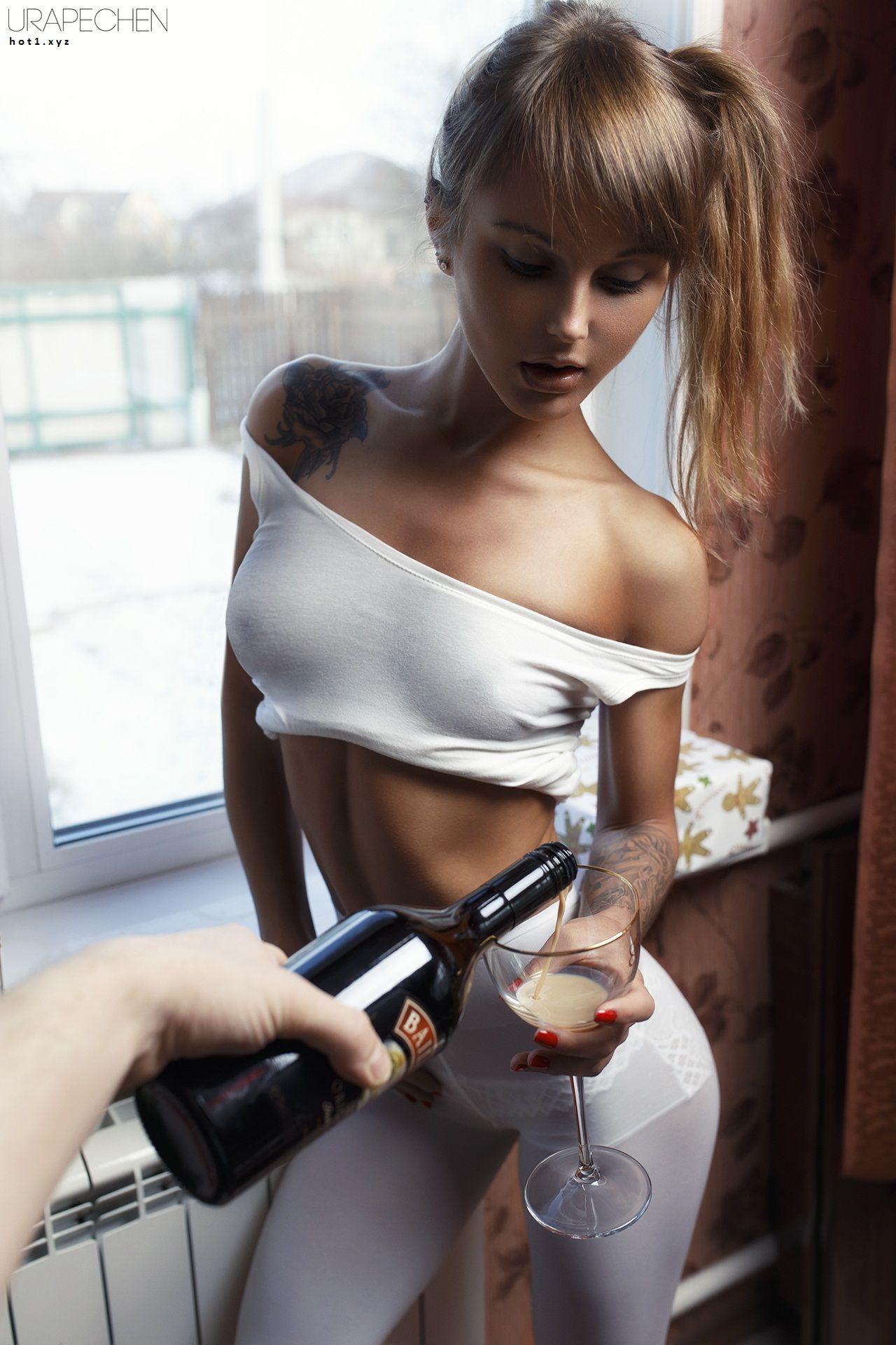 Горючая сексуальная девушки