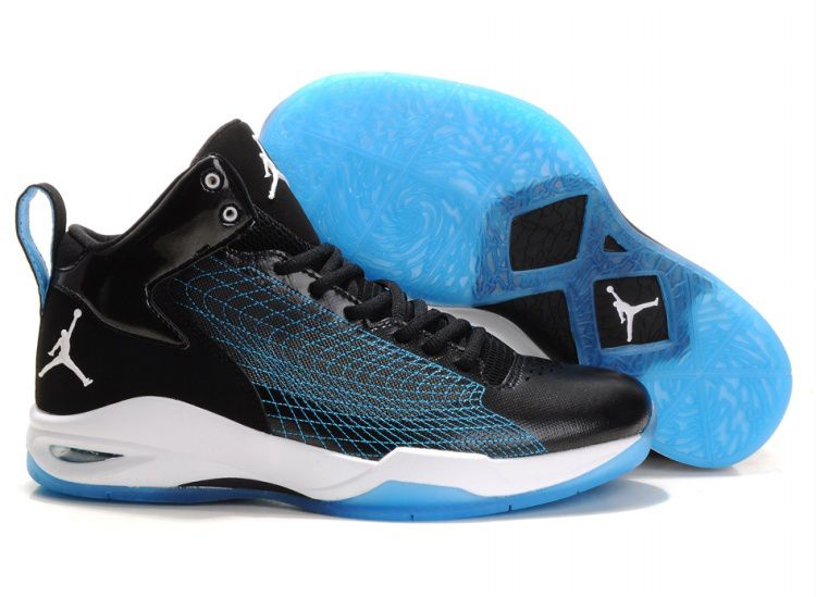 Air Jordan Fly Wade 1 Basketball Shoes White Black Blue   Air