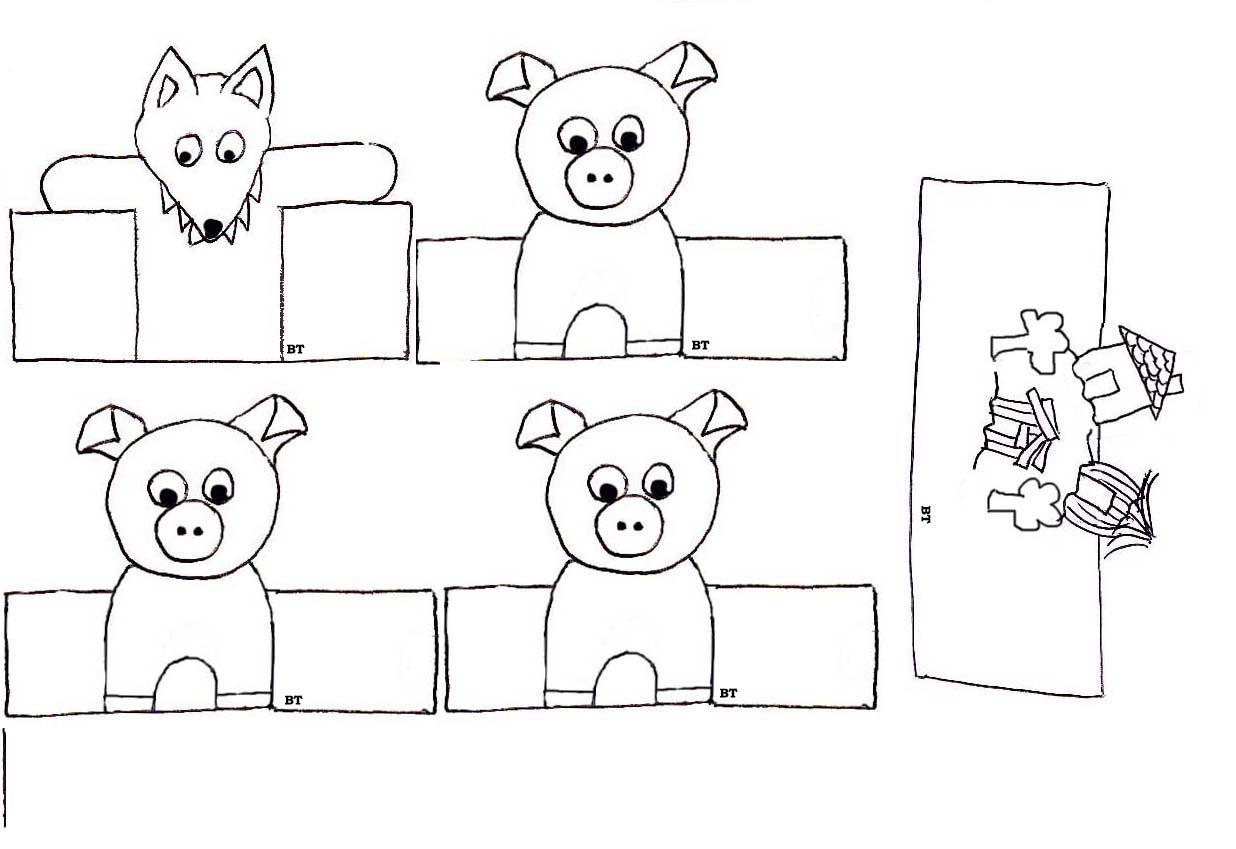marionnettes doigts de papier marionnette doigts et. Black Bedroom Furniture Sets. Home Design Ideas