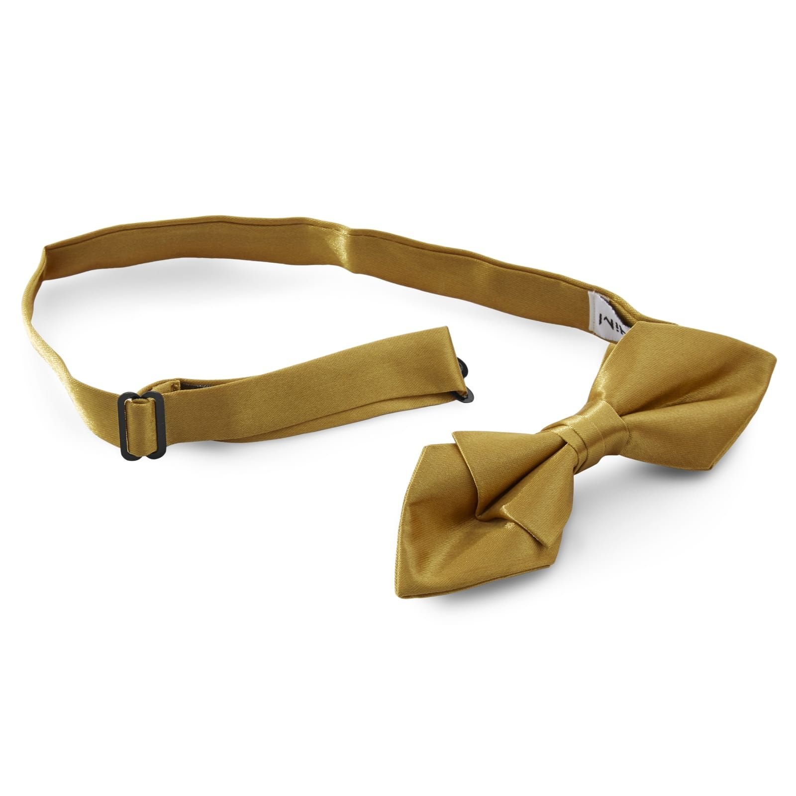 Photo of Shiny Gold Basic Pointy Bow Tie | In stock! | TND Basics