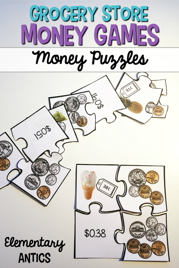 Grocery Store Money Games | Money games, Teaching money, 2nd ...