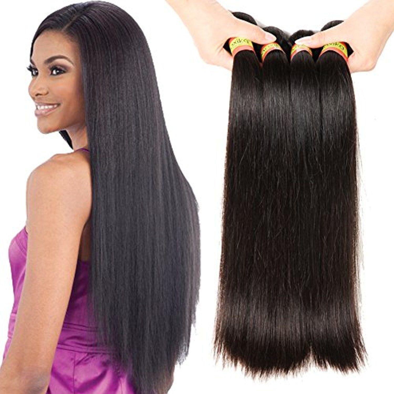 Moxika Hair 10a 830 Inch Brazilian Remy Straight Hair Weaves