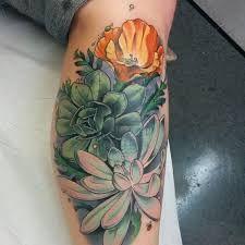 Resultado de imagem para succulent tattoo