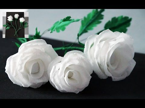 Flowers making how to make rose tissue paper crepe paper flower flowers making how to make rose tissue paper crepe paper flower making julia diy beauty and easy youtube mightylinksfo