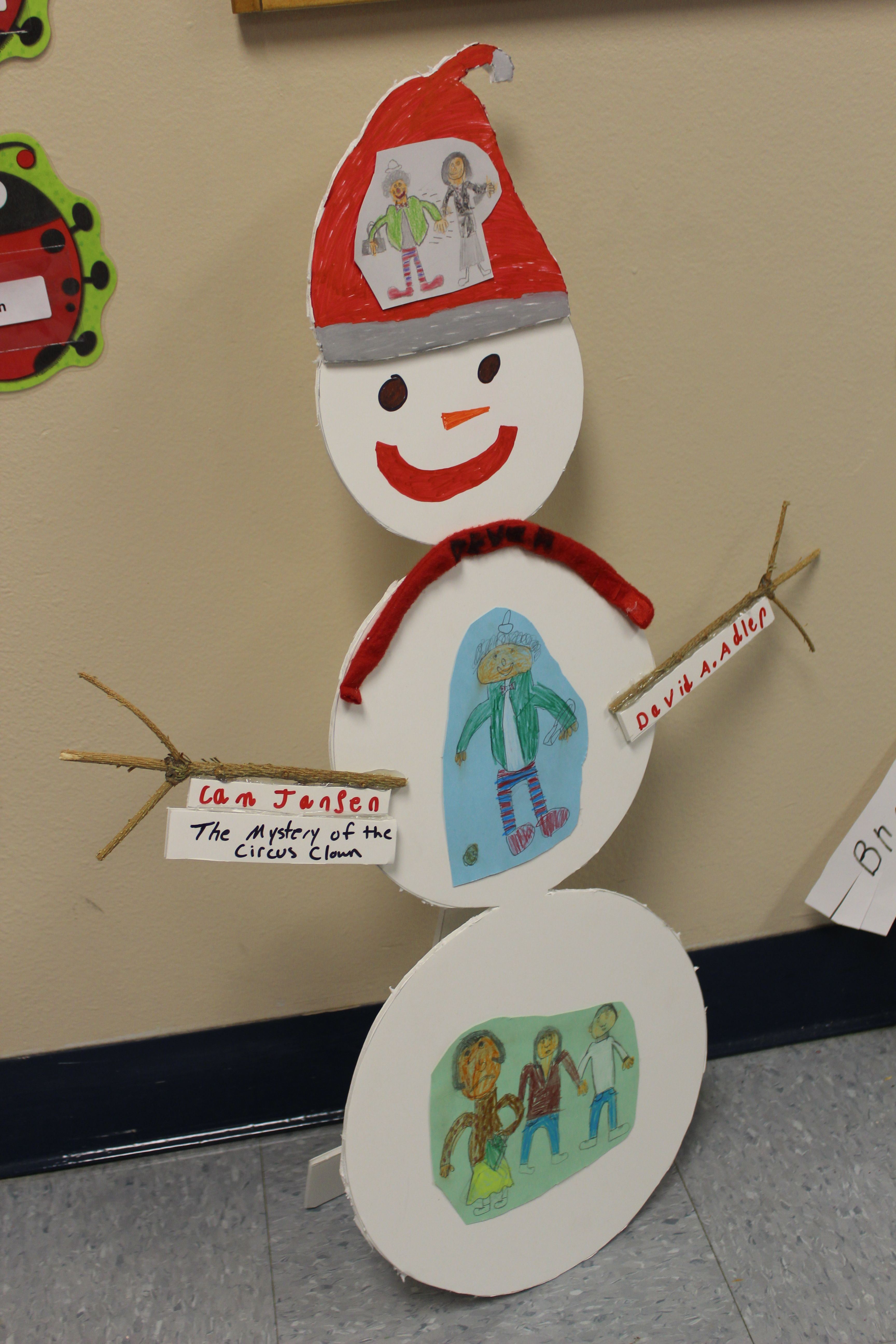 Stand Up January Snowman Book Report