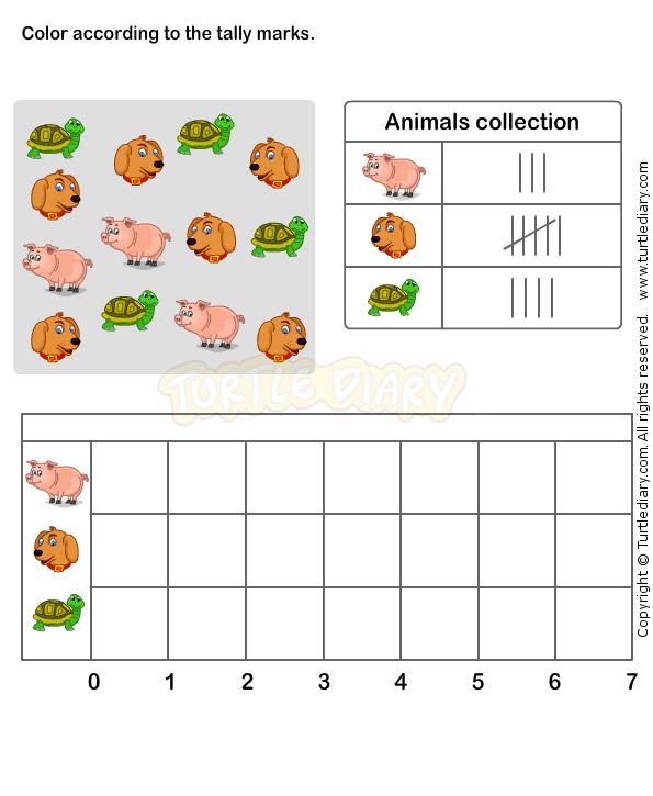 Tally Chart Worksheet 6 - math Worksheets - grade-1 Worksheets ...