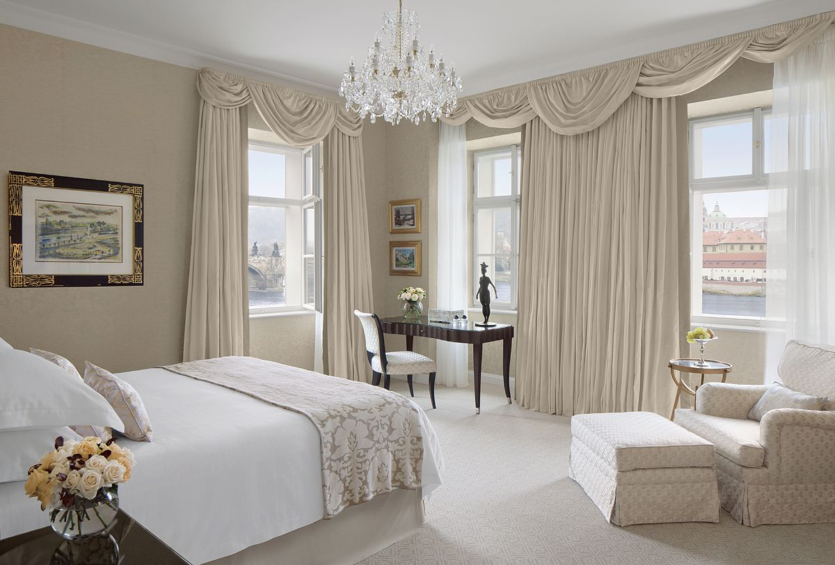 Bedroom Of Our Luxurious Premier Suite In Neo Classical Building