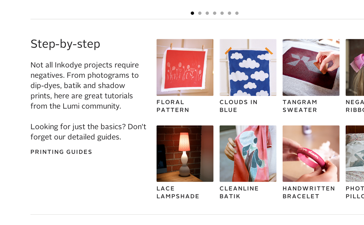 Typography sample: Alright Sans on lumi co (posted by @Mike