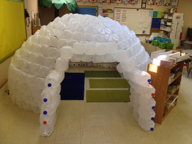 Brilliant!  An Igloo from empty plastic jugs.  They constructed this at my daughter's school!  So cute! #plasticjugs Brilliant!  An Igloo from empty plastic jugs.  They constructed this at my daughter's school!  So cute! #plasticjugs Brilliant!  An Igloo from empty plastic jugs.  They constructed this at my daughter's school!  So cute! #plasticjugs Brilliant!  An Igloo from empty plastic jugs.  They constructed this at my daughter's school!  So cute! #plasticjugs Brilliant!  An Igloo from empty #plasticjugs