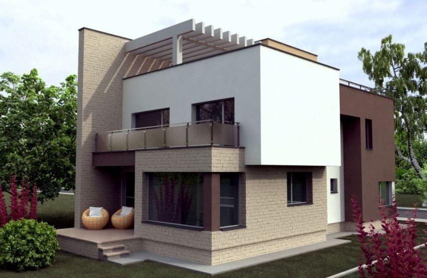 Modelos de casas de dos pisos por dentro y por fuera for Modelos de casas modernas