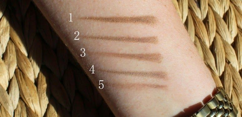 Eye Brow Pencils for Blondes compared: 1. Bobbi Brown Perfectly ...