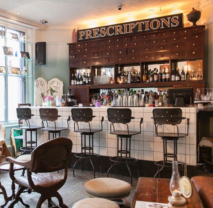 Apothecary Bar Bar Design Restaurant
