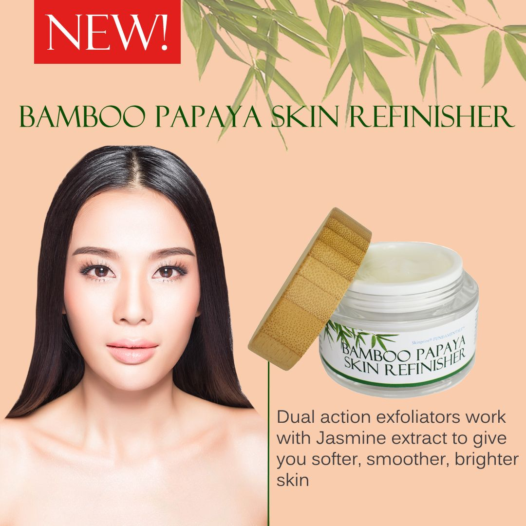 This Cream Refinisher Gently Removes Older Less Youthful Looking Skin With Natural Bamboo Particles While