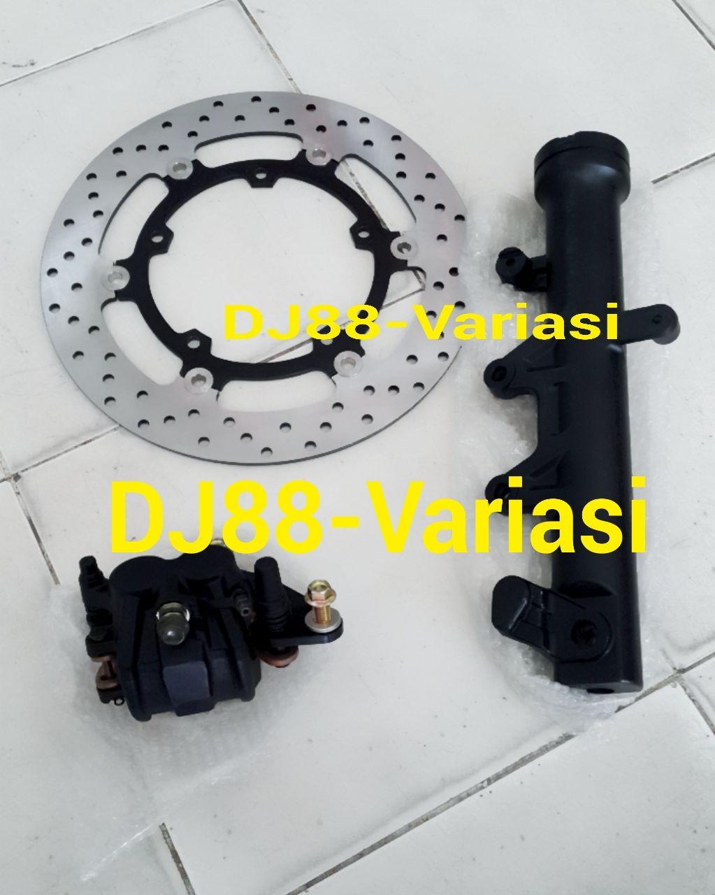 Dj88 Variasi Toko Aksesories Terlengkap Dan Terpercaya Se Indonesia Prospeed Black Series Yamaha R25 Mt 25 Slip On Paket Double Disc Tabung Shock Kiri Kaliper Cak