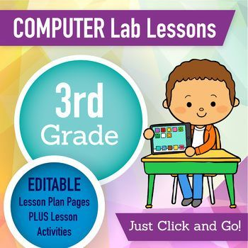 3rd Grade Technology Lesson Plans and Activities Technology - resume lesson plan