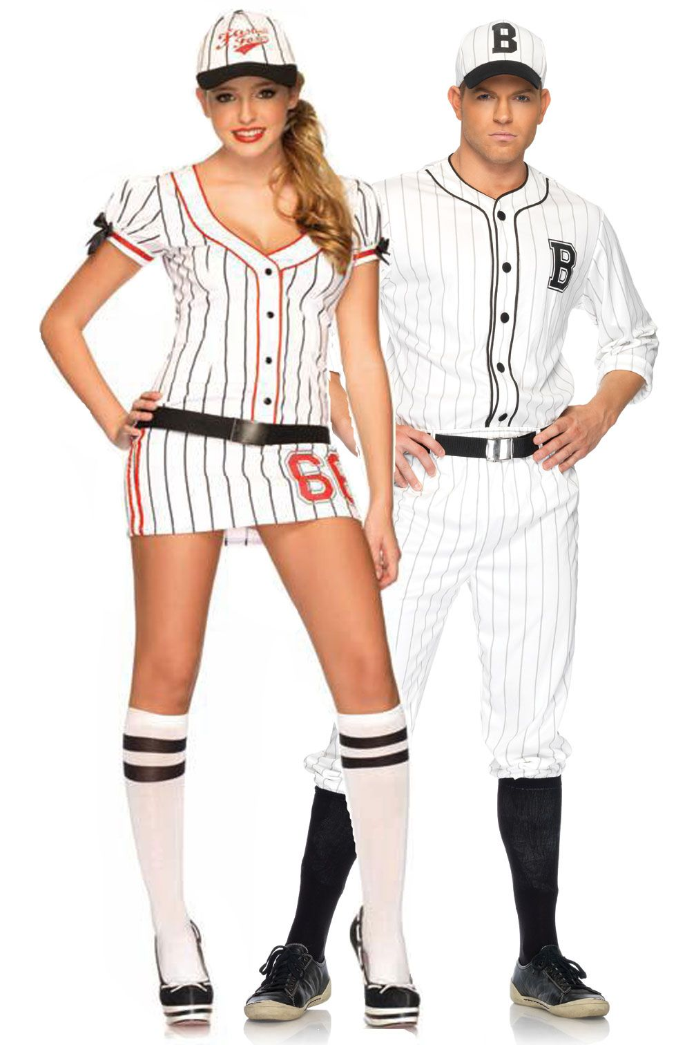couples costumes halloween costumes for couples batter up gotta love baseball teezerscostumescom