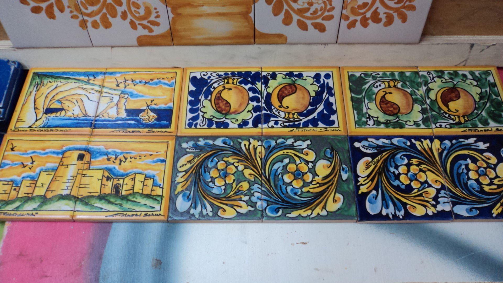 Piastrelle decori siciliani scheda prodotto piastrella 20x20
