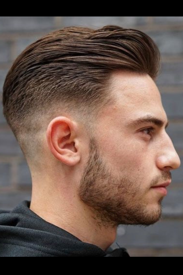 Short Men S Hairstyles Slicked Back Mens Hairstyles Short Faded Hair Haircuts For Men