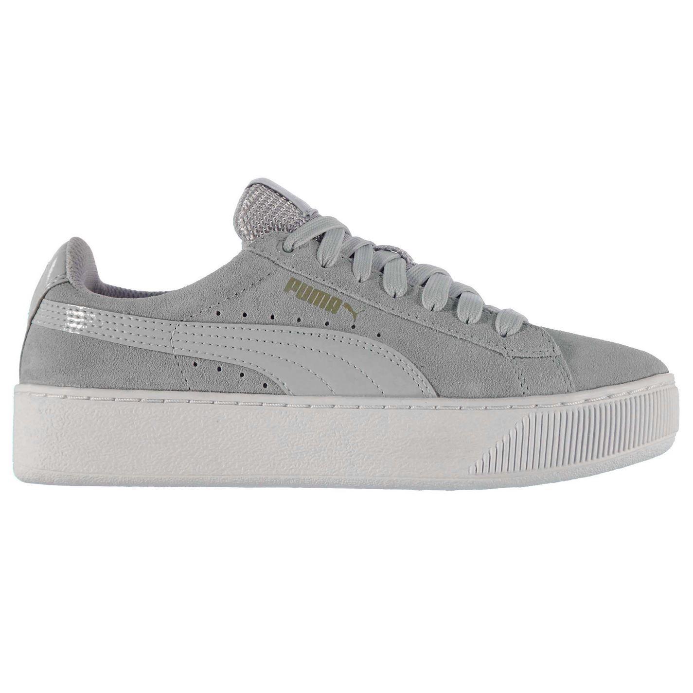 Puma Damen Vikky Plattform Turnschuhe Plateau Sneaker