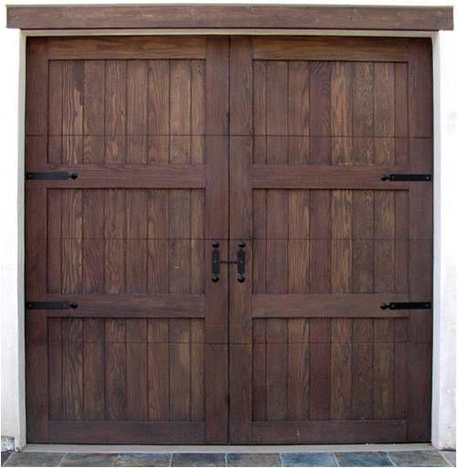Custom Cedar Garage Doors Phoenix Az By On Track Garage Door Service Arizona