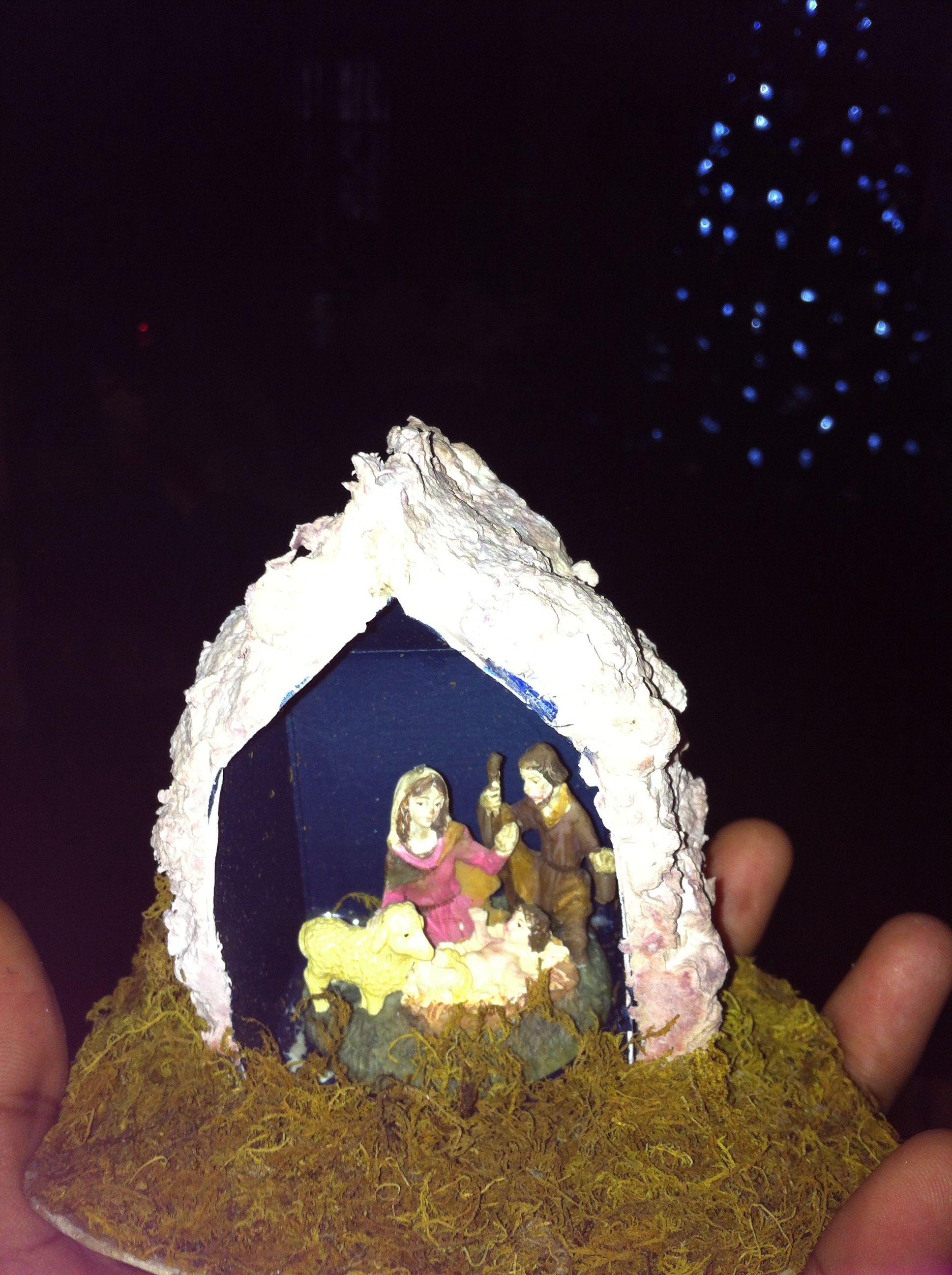 Milk Carton Nativity