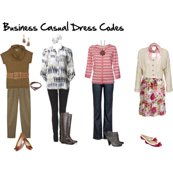 Business Casual Dress Code | Work clothes | Pinterest | Business ...