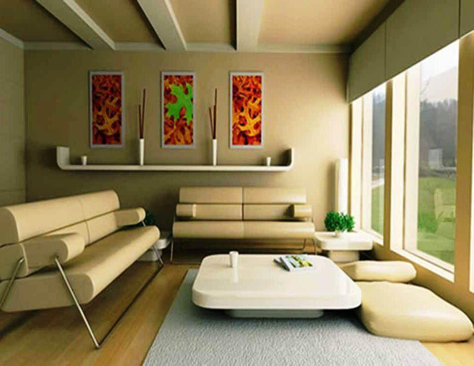 Contoh Warna Cat Ruang Tamu Pastel
