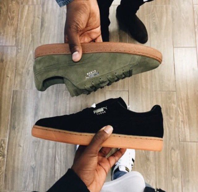 ILikeItThatWay | Sneakers, Sock shoes, Puma suede