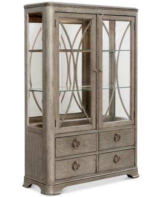 Kelly Ripa Home Hayley China Cabinet In 2019 Kitchen