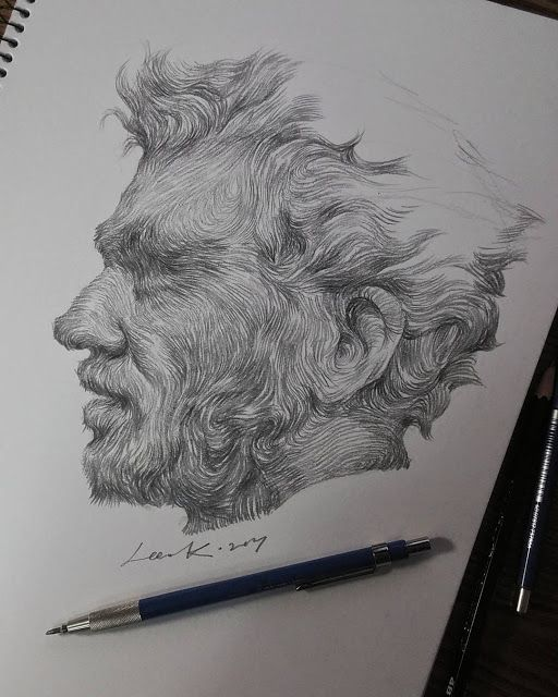 Awesome pencil drawing by lee.k.illust - how to draw #pencildrawingtutorials