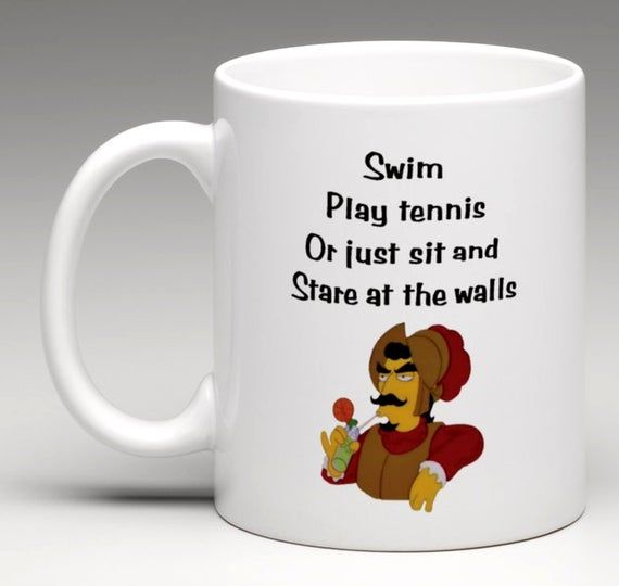 The Simpsons Inspired Rancho Relaxo Coffee Mug | Coffee Mug | Funny Coffee Mug