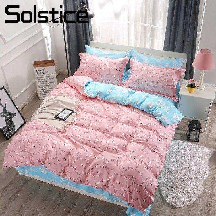 Teenage Bedspreads 2019 Elegant 2019 Spring Bedding Set Girls Bed Linens 3  Or 4pcs Flower Heart Bed
