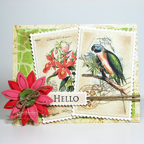 View Idea Gallery Projects | Spellbinders - Tropical Hello