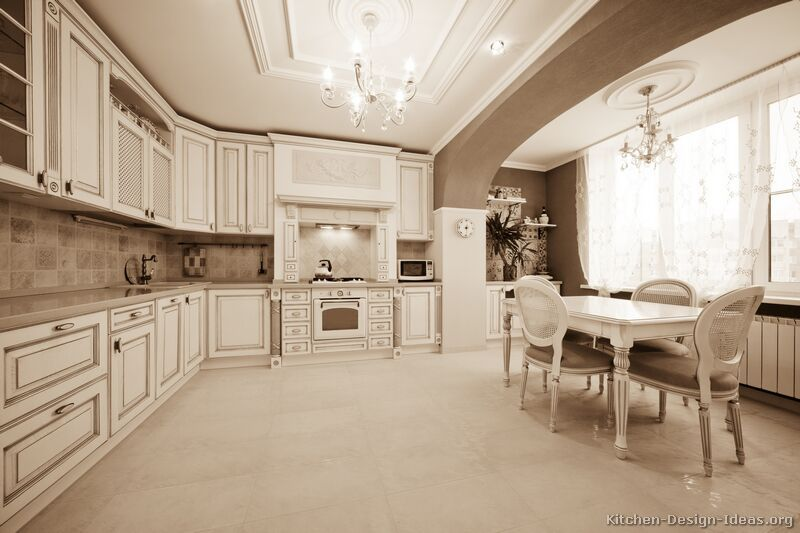 off white kitchen cabinets. Traditional Antique White Kitchen Cabinets  07 Design Ideas org