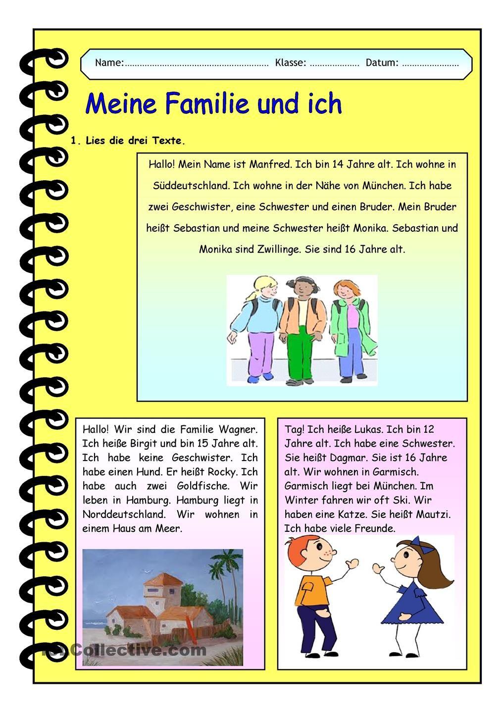 Meine Familie und ich   German