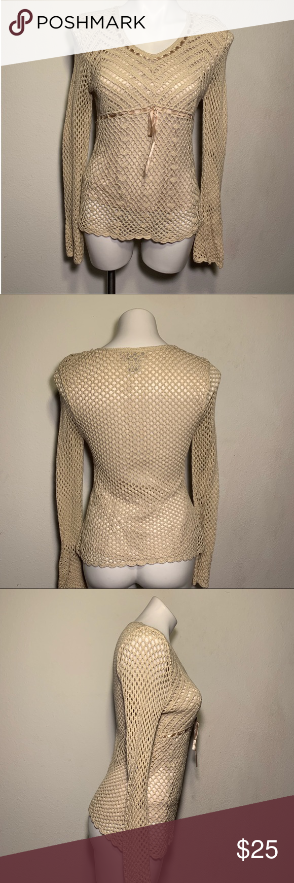 Women S Light Knitted Sweater Size L Clothes Design Feeling