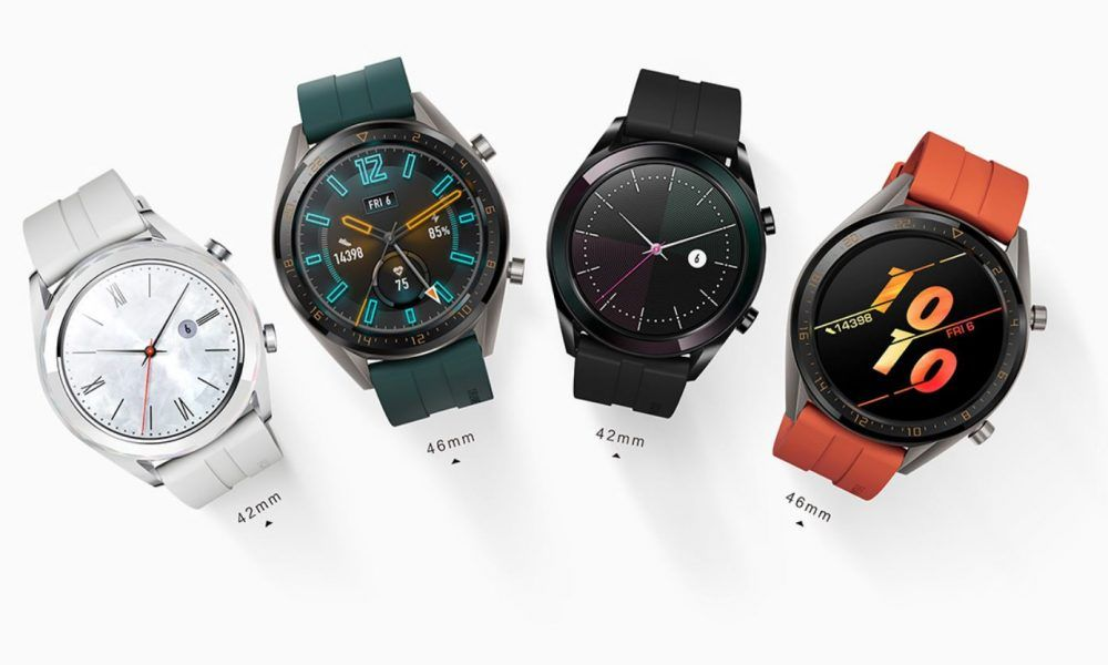 Huawei Watch Gt Smartwatch Now Available In More Sizes And Colors Smart Watch Wearable Device