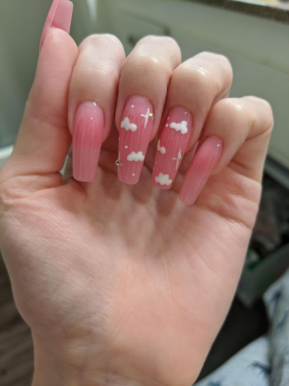 Cute Acrylic Nails 32651166036946171 -  44 Amazing Nail Art Designs Ideas For You Source by irinazan