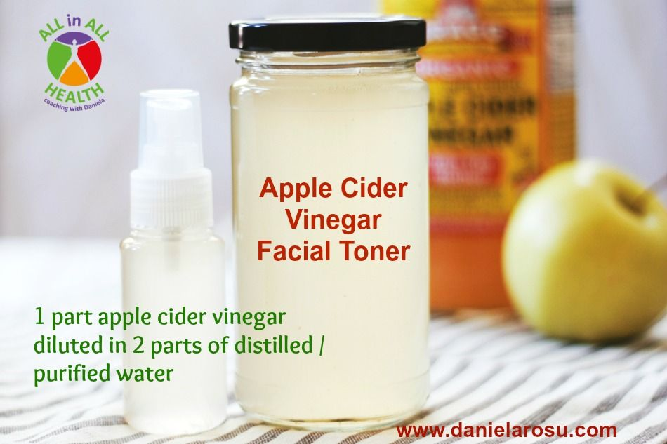 Apple cider vinegar facial toner apple cider vinegar