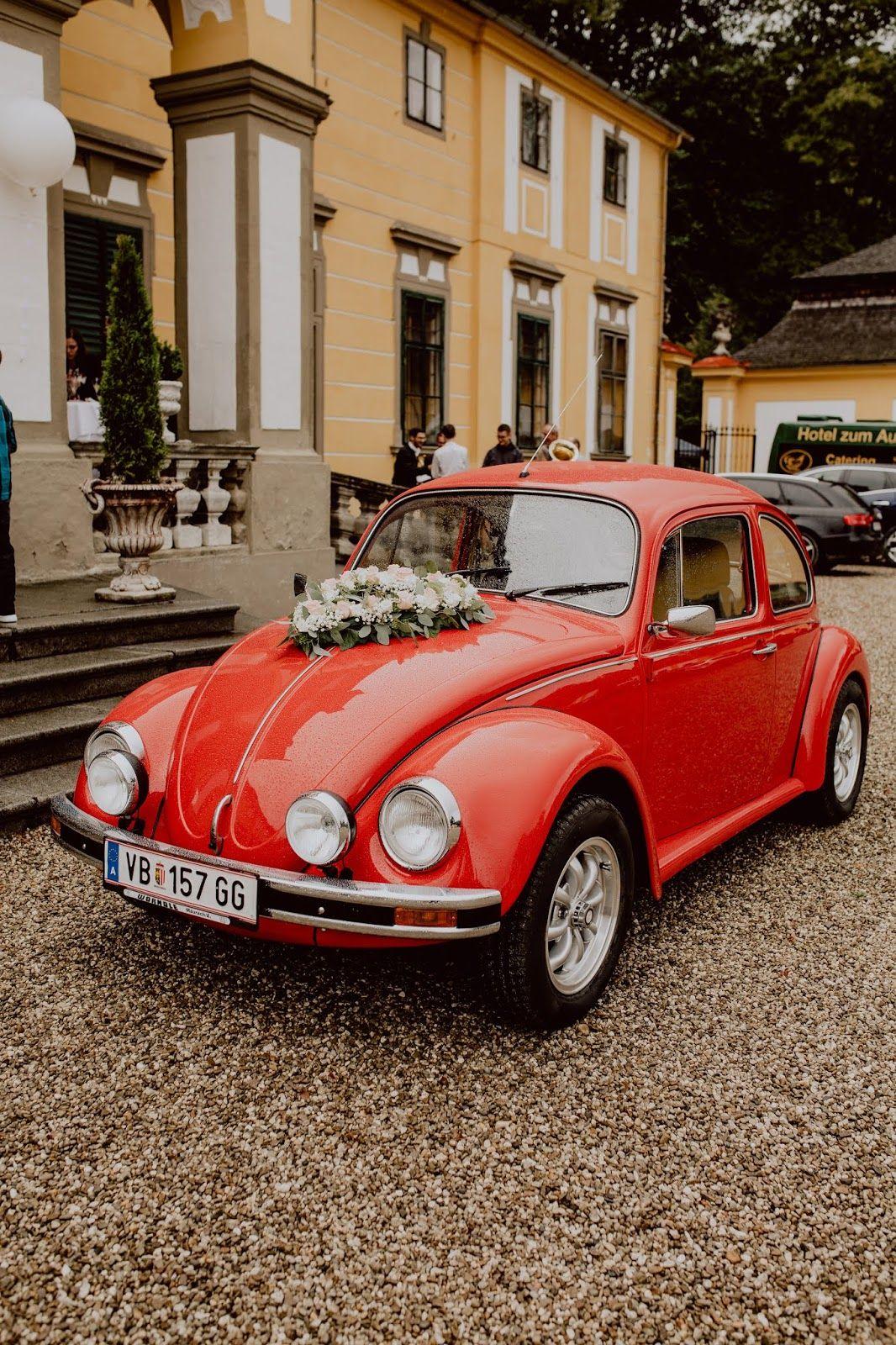 Our Weddincar A Original Vw Kafer Unser Hochzeitsauto Ein