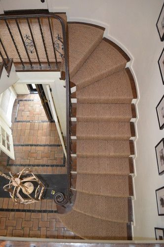 Best Wellesley Custom Sisal Stair Runner Traditional 400 x 300