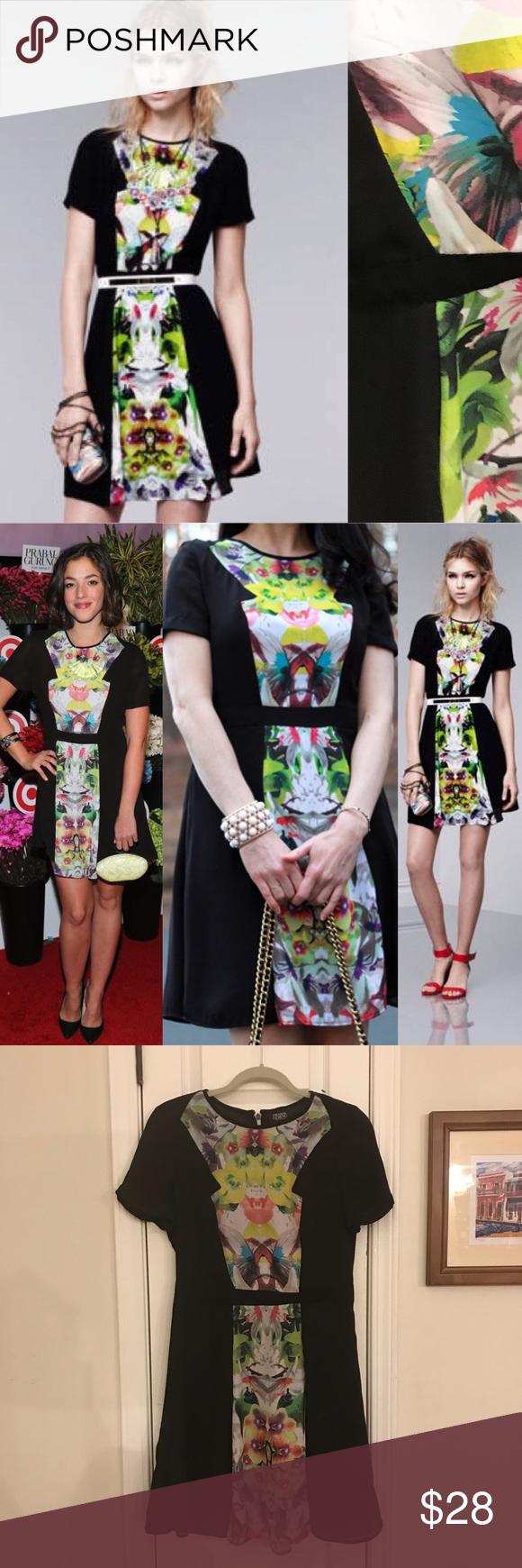 Prabal Gurung For Target Black Floral Dress Sz8 Gorgeous Paral Gurung For Target Exclusive Collection Dress Floral Dress Black Prabal Gurung Clothes Design [ 1740 x 580 Pixel ]