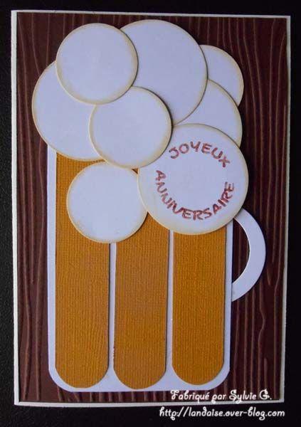 carte anniversaire cartes pinterest carte anniversaire anniversaires et cartes. Black Bedroom Furniture Sets. Home Design Ideas